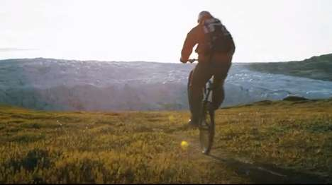 High-Flying Cycling Tricks - This Red Bull Biking Video Follows Petr Kraus in Iceland