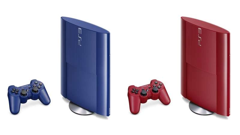 Primary-Colored Consoles