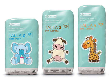 Eroski Diaper Packaging