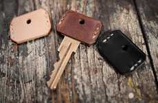Cowhide Key Covers
