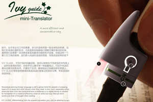 This Language Translation Pen Device Helps Read Foreign Languages