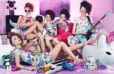 Gritty Girl Band Photoshoots