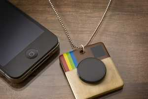 This Instagram Necklace Shows Off Your Picture-Taking Prowess