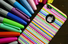 DIY Aztec iPhone Cases - Denise Heredia Tell You How to Jazz Up Your iPhone