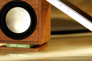This Compact Speaker is Crafted Out of the Precious Ancient Kauri