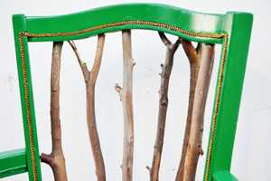The Trash to Treasure Statement Chair Tutorial is Incredibly Creative