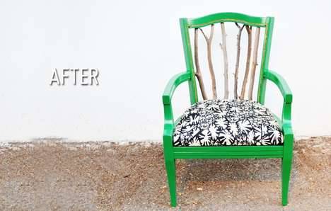 Trash to Treasure Statement Chair