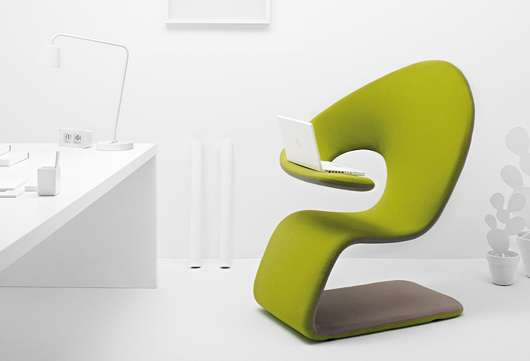 Sinuous Organic Seating