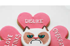These Grumpy Cat Cookies by Whipped Bake Shop Will Make Sourpusses Smile