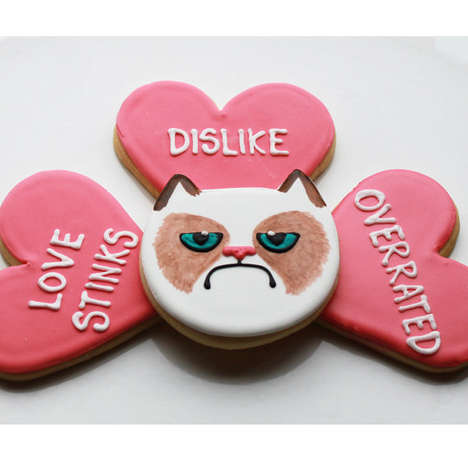 Cat Meme-Tributing Treats - These Grumpy Cat Cookies by Whipped Bake Shop Will Make Sourpusses Smile
