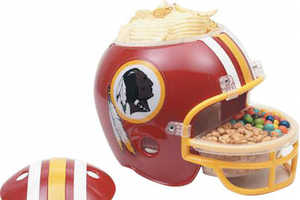 The NFL Snack Helmet Cleverly Holds Your Favorite Treats