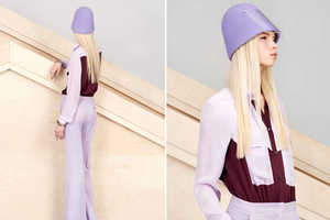 Alexander Lewis Pre-Fall Line 2013 Blends Color and Retro Styling