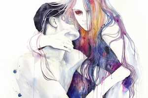 The Agnes Cecile Paintings Capture Impassioned Expressions