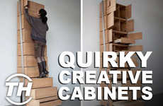 Quirky Creative Cabinets