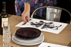 Rorschach Ink Blot Placemats Bring Aesthetic Personality to the Table
