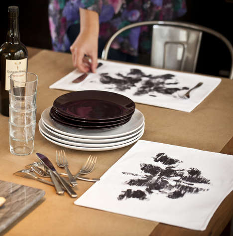 Rorschach Ink Blot Placemats