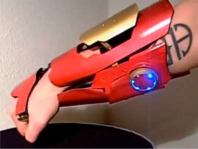 Iron Man Laser Gauntlet