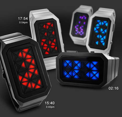 Modern LED Watches 