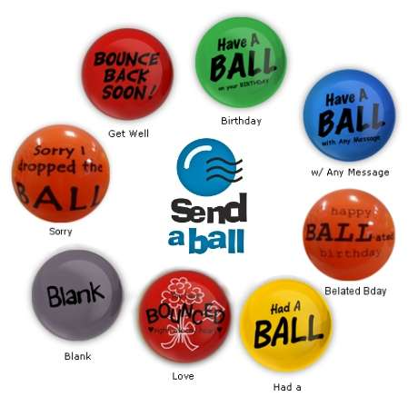 SENDaBALL Messages