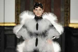 The Iris van Herpen Spring Couture 2013 Defines Novel Garment Silhouette
