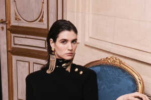 The Balmain Pre-Fall 2013 Collection Channels Diana Vreeland