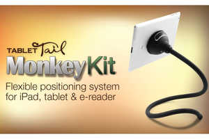 Monkey Kit Tablet Stand Design is Inspired by Animal Tails