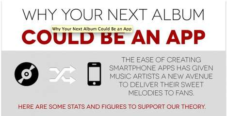 Album-Delivering Apps - Will Music Artist Apps Be the Next Music Delivery Channel?