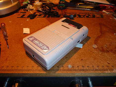 modified game boy