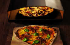 Portable Pizza Ovens - The Uuni Pizza Oven Bakes Wood-Fired Pizza in the Comfort of Your Home