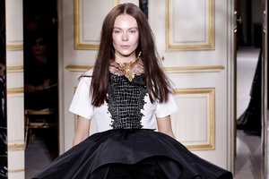 The Giambattista Valli Spring/Summer 2013 Line is Exagerrated