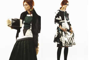 The Marni Pre-Autumn 2013 Collection is Mixed and Matched