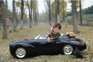 World's Number One Dad Builds Son Realistic Toy Car