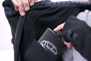 The Drinkmaster Hoodie is a Hands-Free Booze-Carrying Option