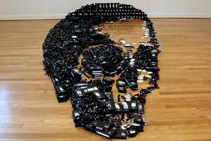 From Skeletal VHS Sculptures to Giant VHS Tributes