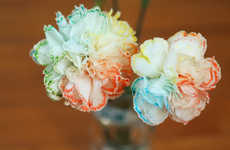 Custom Chromatic Bouquets - These DIY Rainbow Flowers Are Colorfully Beautiful and Simple to Make