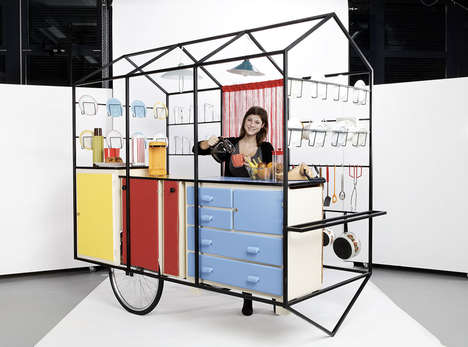 Cook on the Run with This Mobile Kitchen
