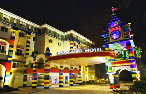 Toy Block Hotels - Legoland Hotel is Unveiled to the Delight of all Toy Fanatics