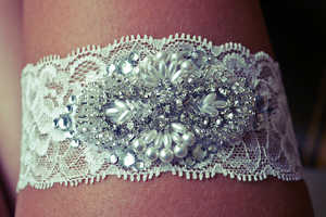 This Bridal Accessory by 'All The Good Girls go to Heaven' is Stunning