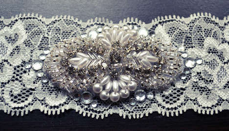 Bridal Accessory By All The Good Girls Go To Heaven