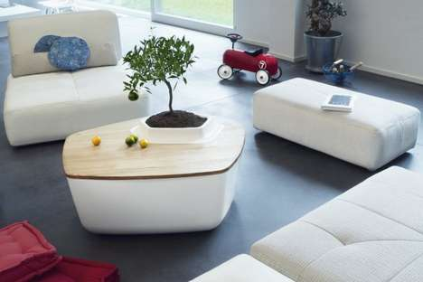 Volcane and Lagune Coffee Tables