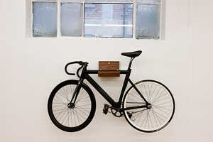 Make's Wall-Mounted Bike Rack is Attractive and Practical