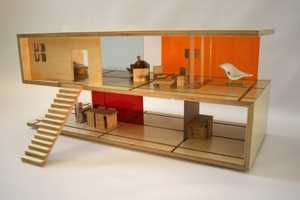 The Qubis Haus Coffee Table Dollhouse is Made for All