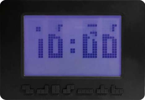 Tetris Alarm Clock