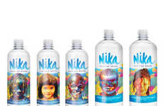 Humanitarian-Branded Water Bottles - Nika Sells Products to Support Clean H20 Projects