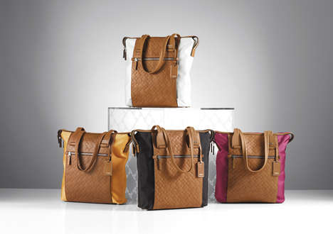 Hacker-Proof Travel Totes - The New Tumi ID Lock Collection Blocks RFID Signals