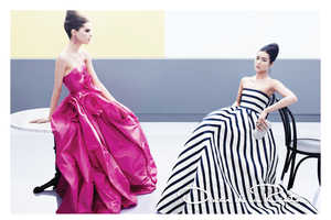 The Oscar De La Renta 2013 Collection is a Feminine Dream