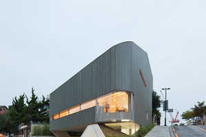 The Mass Studies Songwon Art Space is Triangular and Modern