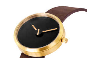 The Denis Guidone Minimalist Watch 'Sometimes' is Modernly Classic