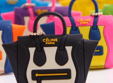 Couture Mobile Accessories - The 'Céline My Phone Mini Bags' Beautifies Conventional Smartphone