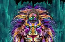 100 Psychedelic Art Designs